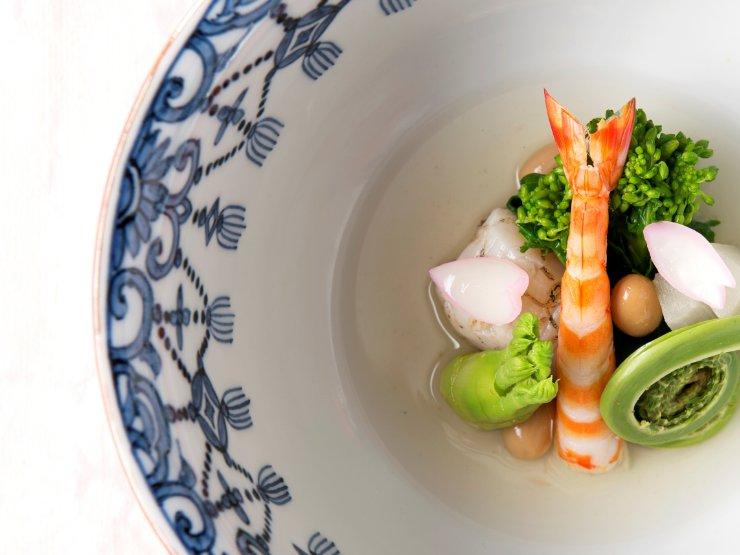 京懐石 螢 顔合わせ・結納の料理 3