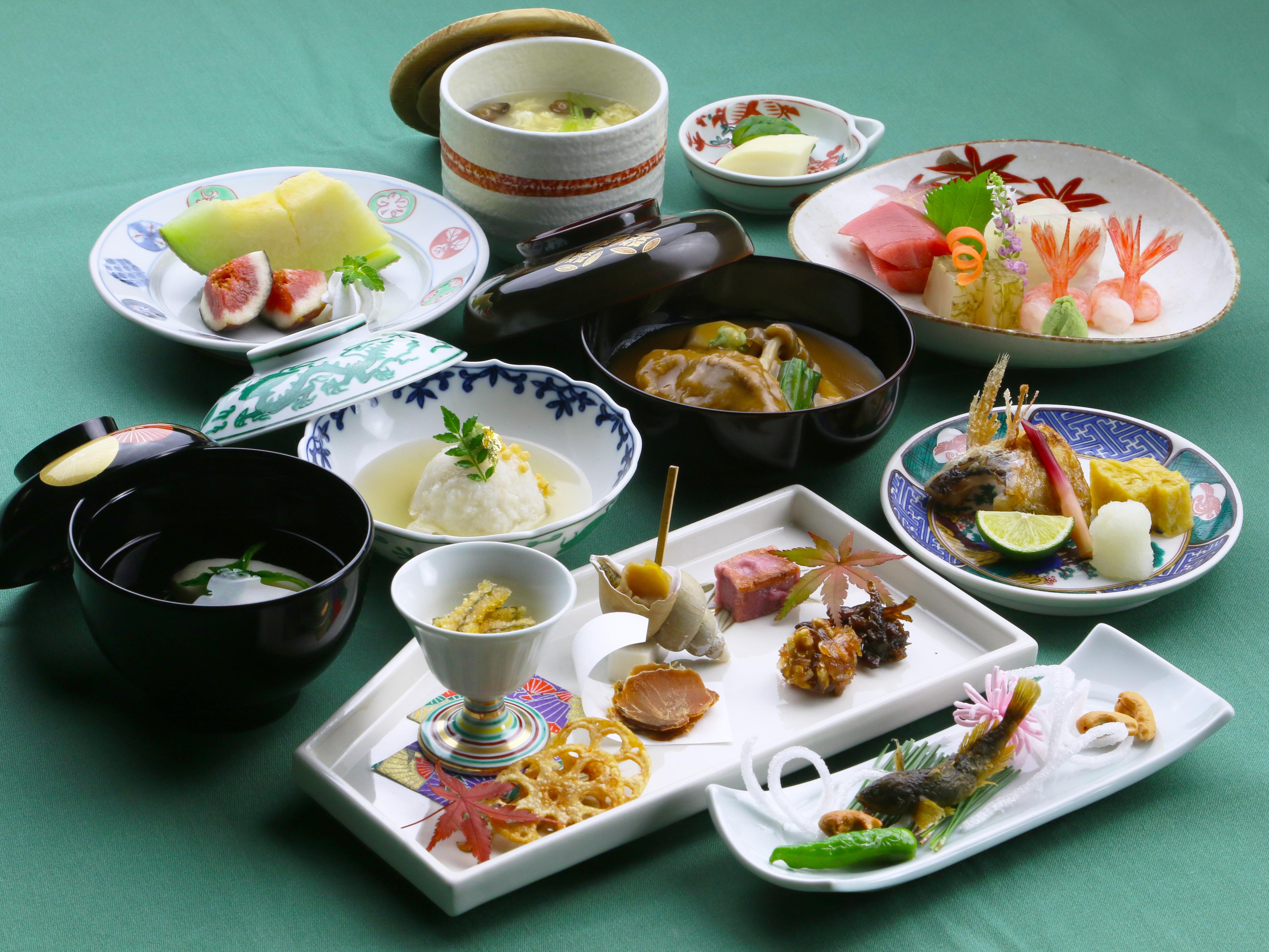 金沢国際ホテル 加賀料理「加能」 顔合わせ・結納の料理