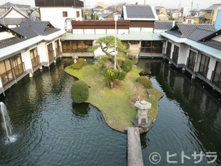 水上庭園と京懐石・焼肉・鍋料理 一心