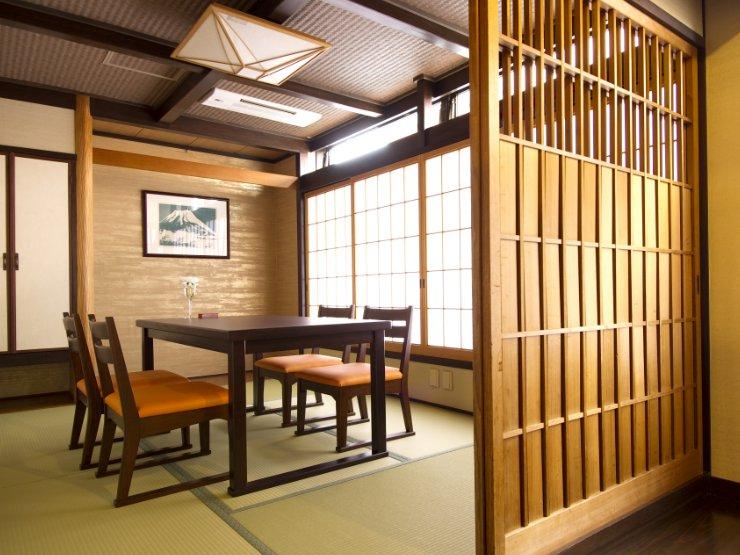 日本料理 ふじ蔵 個室・お店の雰囲気